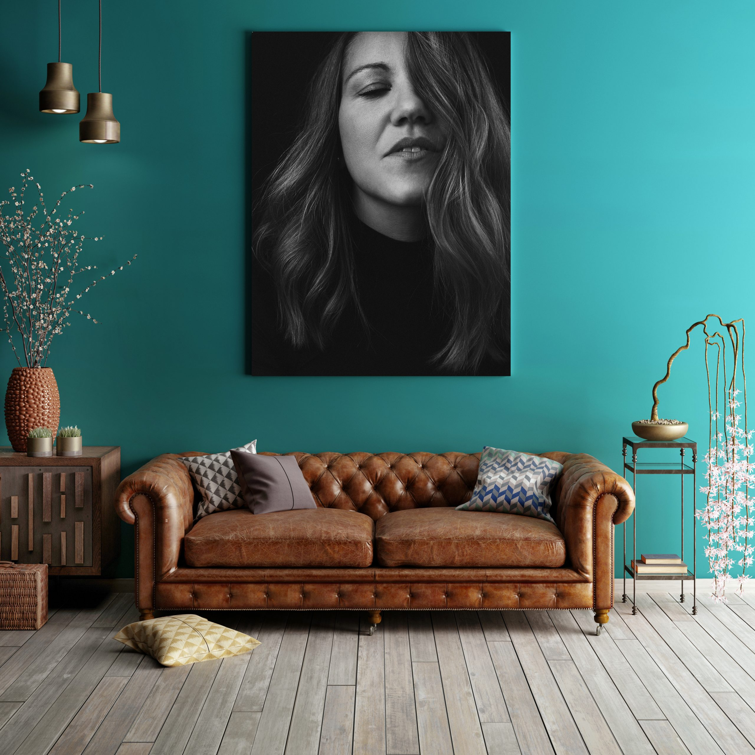 hochwertiger FineArt Print eines Portraits