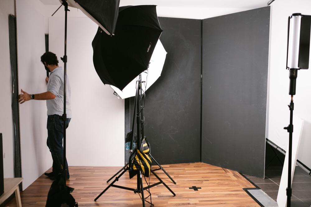 behind the scenes im Fotostudio Mikulitsch in 3100 St. Pölten.